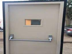Metallic Fire Escape Doors
