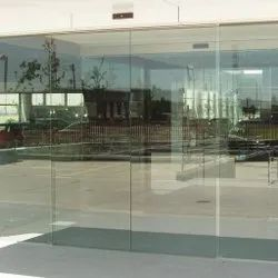 Automatic Sliding Glass Door, For Office, Exterior