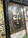 Buddha picture embossed tiles