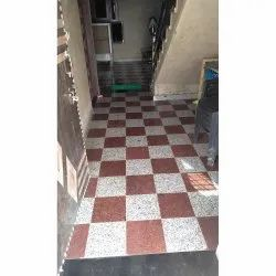 Polished Finish Granite Floor Tiles, Kitchen, Thickness: 18 mm