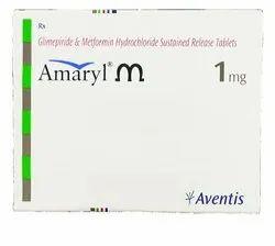 Amaryl M Tablet PR