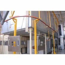Closed Track Conveyor System