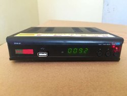 RANJUSTAD MPEG4 HD Free To Air Set Top Box Digital Satellite Device Black Color