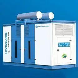 Three Phase Ashok Leyland LP500S 500 kVA Diesel Generator