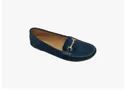 Autumn/spring Awc-131 Women Blue Loafers, Size: 36