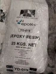 Epoxy Resin YD 019, For Adhesives, Packaging Size: 25 Kg Nett
