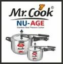Mr.cook Stainless Steel Cooker, For Home, Capacity: 1.5 Litres, 5 Litres