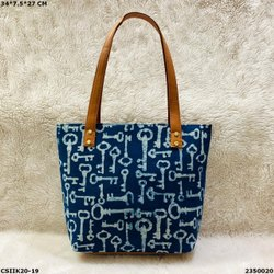 Designer Ikkat Laptop Bag