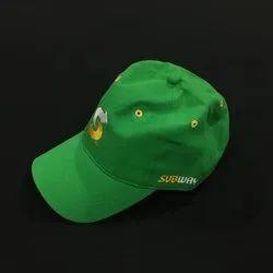 Green Subway Cap, Quantity Per Pack: 10 Pcs