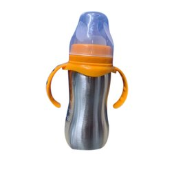 Kidz Creation SS304 Baby Insulation Stainless Steel Bottle, For Water Storage, Capacity: 290 Ml