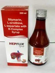 Silymarin,L-Ornithine ,L-Aspartate ,B-Complex Syrup