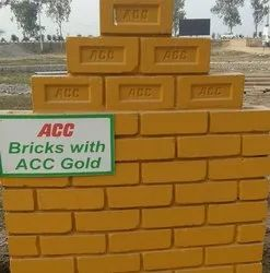 Cement ACC Fly Ash Bricks