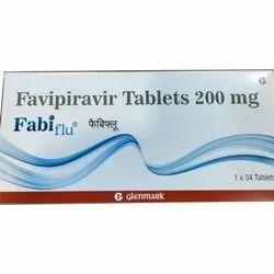 Fabiflu Favipiravir  200mg Tablets