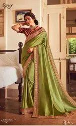 Fancy Designer Vichitra Silk