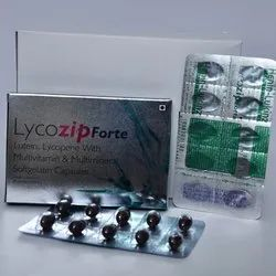 Lutein Lycopene With Multivitamin And Multimineral Softgelatin Capsules