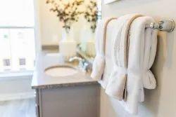Leaf Dew Cotton Bathroom Towel