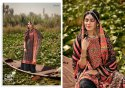 Glossy Simar Kashish Viscose Muslin Silk unstithced Salwar Suit Catalog