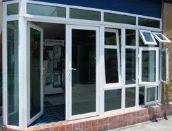 UPVC Transparent Glass Windows, For Home