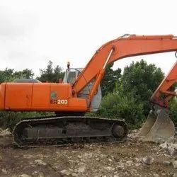 Brand: tata hitahic 1month Excavators Hiring Services, in nagpur, Application/Usage: Material Handling