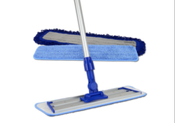 Blue Microfiber Mop, For Floor Cleaning