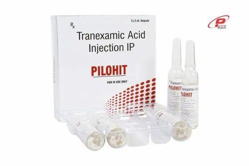 Pilohit Tranaxemic acid injection