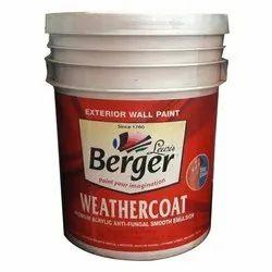 20 L Berger Weather Coat Paint, For Exterior