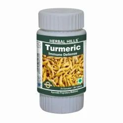 Herbal Hills Turmeric 60 Tablets For Effective Immunity Booster