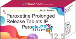 PAROXETINE 12.5 MG CR TABLETS (PAROCLE-PR 12.5)