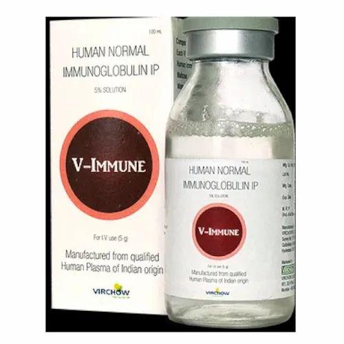 V- Immune Human Normal Immunoglobulin IP