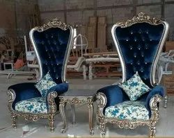 Wood 5.5 Fit 96mm wedding chair/wedding high back chair, Size: 5.5 Fit Hight