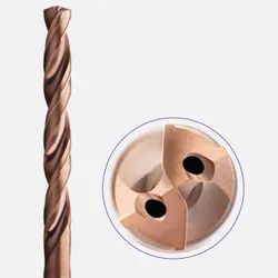 ZCC-CT Straight Shank Solid Carbide Drill