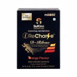 Energy Drink Orange iRecharge, Packaging Size: 10 X 5.25