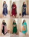 Heavy Jam Cotton Ladies Indian Wear Suit