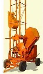 Diesel Automatic Concrete Mixer Machines