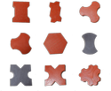 paver block making mould