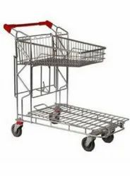 Metal Bed And Flat Bed Trolley For Material Handling & Movement