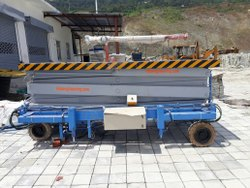 Mobile Type Hydraulic Scissor Lift Table