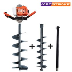 Mecstroke Heavy Duty 68cc Petrol Earth Auger