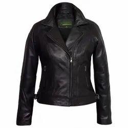 Female PU Jacket