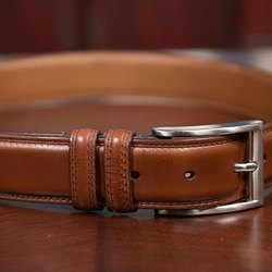 Brown Leather Men Swiss Design Fashionable And Stylish Looking Belt