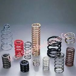 M.coil Spring Stainless Steel Compression Spring, Packaging Type: Box, for Industrial