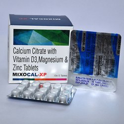 Calcium Citrate With Vitamin D3 Magnesium and Zinc Tablets