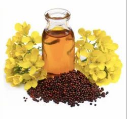 Yellow Cold Pressed Mustard Oil, Packaging Type: Glass Bottle, Packaging Size: 1 litre