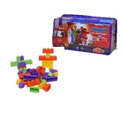 Plastic 80817 Scooby Do Educational Bus Blocks, Child Age Group: 3+ Years
