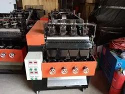4 Head Steel Scrubber Making Machine