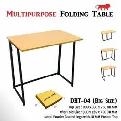 Decorative Wooden DHT 04 Multiple Use Working Folding Table