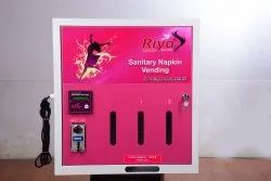 Riya Coin Operated Napkin Vending Machine