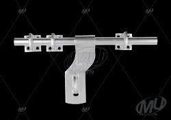 Aluminium Main Door Aldrop Bend, For Home, Size: 150mm
