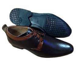 Mens Lace Up Rexine Formal Shoes, Size: 6-10