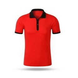 Collar Polo Pique T Shirt
